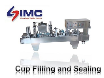 Cup Filling and Sealing