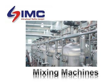 Powder/Liquid/Granular Mixing Vessels