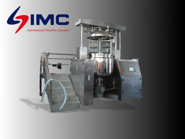 EMULSIFICATION PROJECT - Homogenizer, Vacuum Manufacturing System